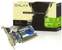 galax NVIDIA GEFORCE GT 710 2GB 2 GB GDDR3 Graphics Card(Black)