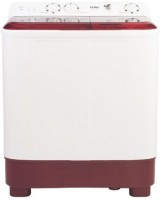 Haier 6.5 kg Semi Automatic Top Load Maroon, White(HTW65-1187BT)