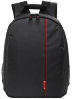 SHOPEE Camera Bag Camera Backpack Waterproof Fabric  Camera Bag(Black)