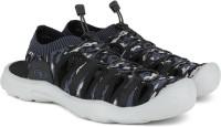 ATHLETIC WORKS by Walmart Men Black, Blue Sports Sandals