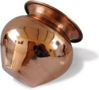Rolimoli 100% Pure copper kalash Copper Kalash(Height: 3 inch, Brown)