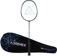 Adrenex by Flipkart R501 Full Graphite Badminton Racquet Black, Blue Strung(Pack of: 1, 90 g)