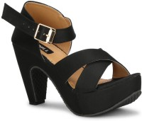 Denill Women Black Heels