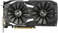Asus NVIDIA Radeon RX 580 8GB Dual-Fan OC Edition GDDR5 DP HDMI DVI VR Ready AMD Graphics Card (DUAL-RX580-O8G) 8 GB GDDR5 Graphics Card