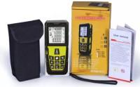 Powerpak Laser Distance Meter 80m (MS 80A) Precise Laser Distance Measurer (upto 80m) Non-magnetic Engineer's Precision Level(5 cm)