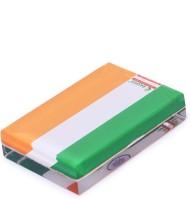 Rasper Tricolor Indian Flag Acrylic Paper Weight Acrylic Paper Weights  with Tricolor(Set Of 1, Tricolor)