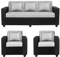 Mofisofas Fabric 3 + 1 + 1 silver Sofa Set