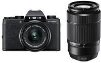 FUJIFILM X-T100 Mirrorless Camera Dual Kit with 15-45mm + 50-230mm Lens Kit(Black)
