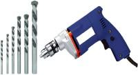 mld Electric Drill Machine with Masonry Bit Set Drill Machine with Bit Set Pistol Grip Drill(10 mm Chuck Size)