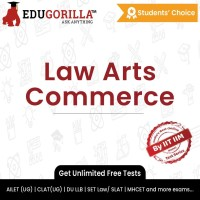EduGorilla Law Arts Commerce Exam(Online Test Series)