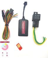 mtelematics GPS Vehicle Tracker GPS Device(2 Maps, Black)