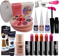 Color Diva 5 Shade Lipstick, Charcoal Mask With Beauty Product Set of 13 GCI813