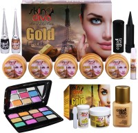 Skin Diva Art of Skin Care Bleach, Facial Kit With Beauty Product Set of 6 GCI802