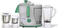 Aisen A50JMG500 500 Juicer Mixer Grinder(Olive Green, 3 Jars)