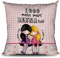 OddClick Printed Cushions & Pillows Cover(30 cm*30 cm, Multicolor)