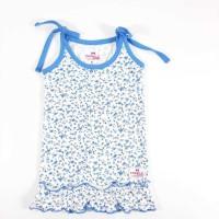 TWINKLE Girls Midi/Knee Length Casual Dress(White, Sleeveless)