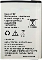 OTD Mobile Battery For IVoomi Me1/Me1 Plus iv 501 3000 mAh