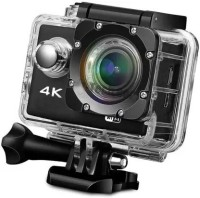 techobucks 4K Action Wi-Fi Camera 16MP HD 1080P Camera with remote SM-112 Sports & Action Camera(Black)