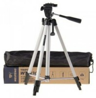 kannu Bros Adjustable Aluminium Lightweight Camera Stand Tripod Tripod(Black, Supports Up to 3200 g)