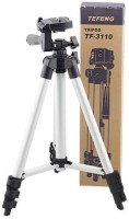 Kannu bros Camera Tripod Stand With 3-Way Head Tripod Tripod(Black, Supports Up to 1500 g)