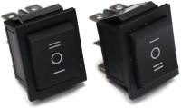 Electronicspices Black Rocker Button switch DPDT 3 Position ON-Off-ON 16A 250VAC / 20A 125VAC 6 Pi heavy duty Rocker Power Switch Electronic Components Electronic Hobby Kit
