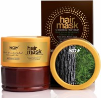 WOW SKIN SCIENCE Black Spruce Bark Extract, Vitamin B5 & E Hair Mask for Colored & Treated Hair(200 ml)