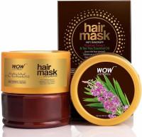 WOW SKIN SCIENCE Rosebay Extract & Tea Tree Essential Oil Anti-Dandruff Hair Mask(200 ml)