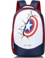 DRAZO 1003 Waterproof School Bag(Multicolor, 25 L)