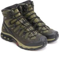 Salomon Salomon Quest 4D 3 GTX Waterproof Mid Ankle Men's Hiking Shoe Outdoors For Men(Khaki)
