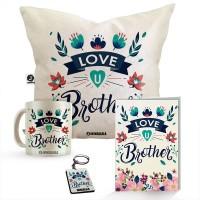JHINGALALA Mug, Cushion, Greeting Card, Keychain Gift Set