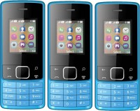 I Kall K20 New Pack of Three Mobiles(Blue)