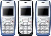 I Kall K72 Pack of Three Mobiles(Blue & Black)