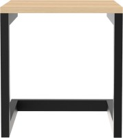 Mohh M-MWC-001B Metal Cafeteria Table(Finish Color - Black)
