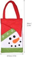 Zenuss 5pcs/set Christmas Candy Bags Gift Wrap Pocekts Bags X'mas Decorations Ornaments--Reindeer Storage Pouch