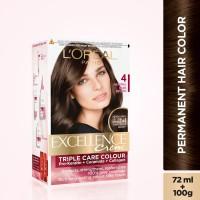 L'Oreal Paris Excellence Creme Hair Color(Natural Dark Brown 4)