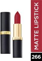 L'OREAL PARIS Color Riche Moist Matte Lipstick 266 Pure Rouge| 3.7 g