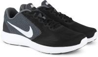Nike REVOLUTION 3 Running Shoe For Men(Black, Grey)