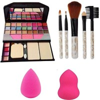 Adbeni Exclusive Makeup combo kit with 5 Soft Brushes, GCI768