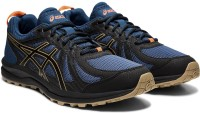 Asics FREQUENT TRAIL Running Shoes For Men(Blue)