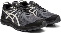 Asics FREQUENT TRAIL Running Shoes For Men(Black)