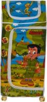 NHR Chota Bheem 4 shelf Baby Almirah Cotton Collapsible Wardrobe(Finish Color - Multi)