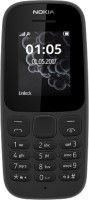 Nokia 105 Single Sim 2017(Black)
