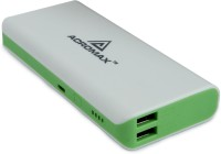 Acromax 13000 mAh Power Bank (Am-130, super fast charger)(Green, Lithium-ion)