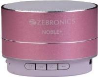 Zebronics Plus Wireless Bluetooth  Speaker(Pink, Stereo Channel)