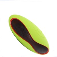 Blue Birds SUPER BASS QUALITE Simple Portable Rugby Shape Bluetooth Speaker With Charging Cable Loudspeaker, TF Card Music Playing, FM Radio Mp3/Mp4 Outstanding Sound Quality Compatible with All Android and iOS Devices (multicolor) 5 W Bluetooth  Speaker(Multicolor, 4.1 Channel)