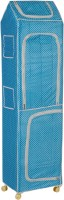 NHR Polka 7, Blue PVC Collapsible Wardrobe(Finish Color - Blue)