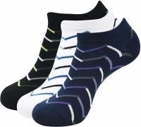 Balenzia Men Striped Low Cut Socks(Pack of 3)