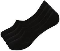 BALENZIA Men Solid Peds/Footie/No-Show Socks(Pack of 4)