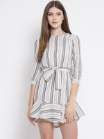 Oxolloxo Women A-line White Dress