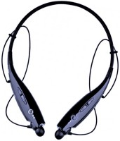 Blue Birds Powerful stereo sound with enhanced bass Wireless/bluetooth waterproof/sweatproof HBS-730 Sports neckband with boom sound Bluetooth Headset with Mic(Multicolor, In the Ear)